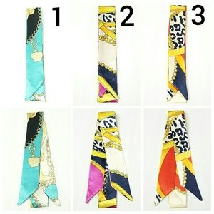 New! 2pc Any Design From 1 to 3 Satin Twilly